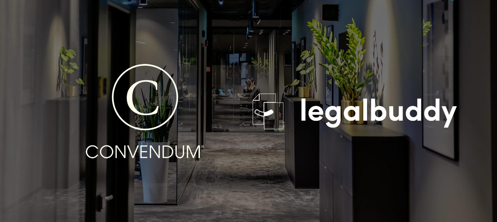 Legalbuddy och CONVENDUM i strategiskt samarbete för framtidens juridiska rådgivning