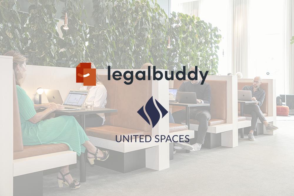 Legalbuddy ingår samarbete med United Spaces