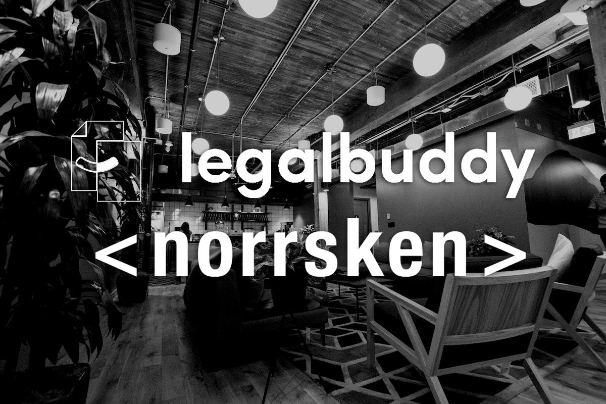 Legalbuddy ny Rocket Fuel Partner till Norrsken